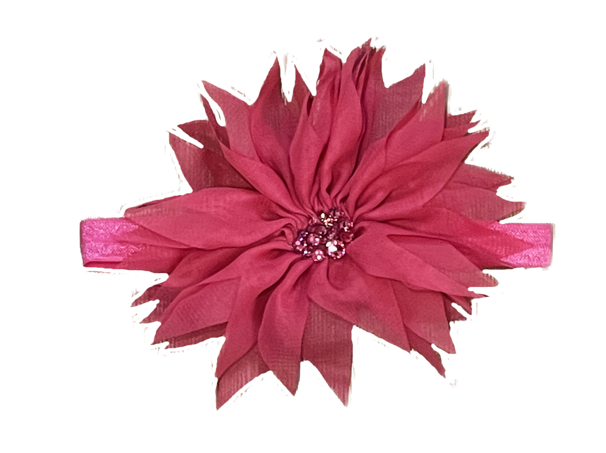 Bari Lynn Sheer Fancy Flower Headband