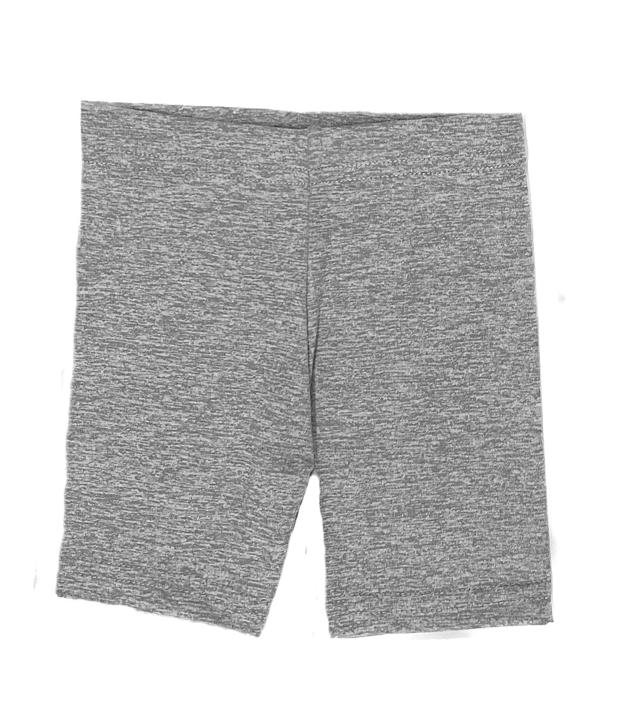 Dori Creations Grey/White Heathered Bike Shorts