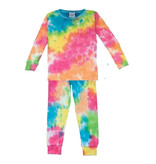 Baby Steps Zoe Tie Dye PJ Set