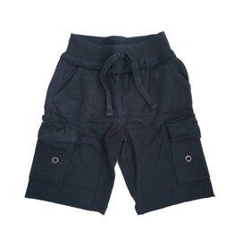 Mish Solid Navy Cargo Shorts