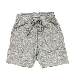 Mish Solid Comfy Pocket Shorts-H Grey