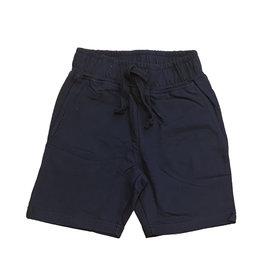 Mish Solid Comfy Pocket Infant Shorts-Navy