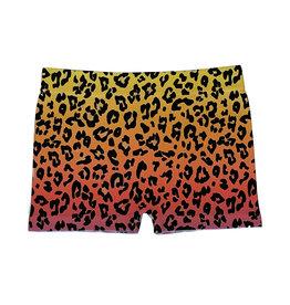 Malibu Sugar Ombre Leopard Shorts-4-6x