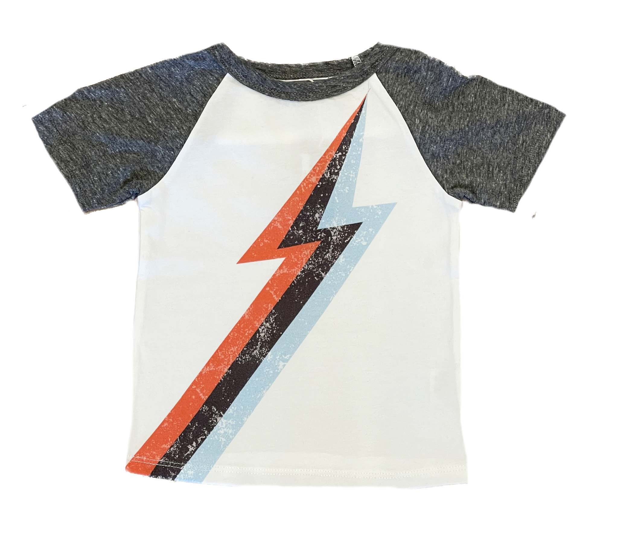 Grey Vintage Bolt Top