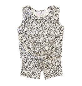 Sofi Mini Leopard Infant Short Set