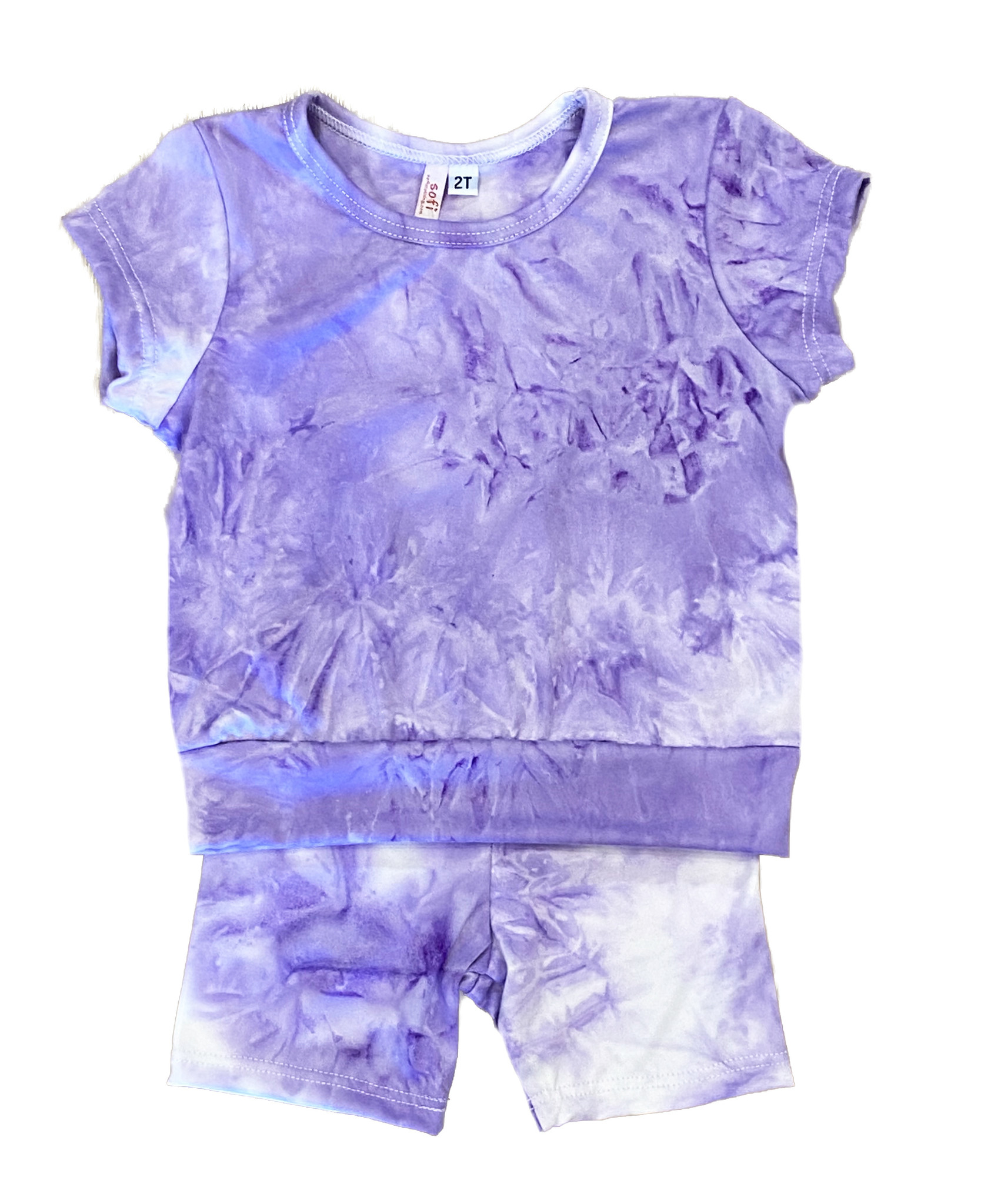 Sofi Lilac TD Bike Short Set - Infant
