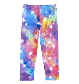 Social Butterfly Rainbow Stars Leggings