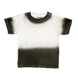Mish Wht/Char/Blk Ombre Infant Tee