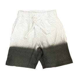 Mish Wht/Blk Ombre Infant Shorts