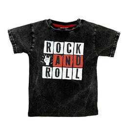 Mish Distressed Rock and Roll Infant Tee