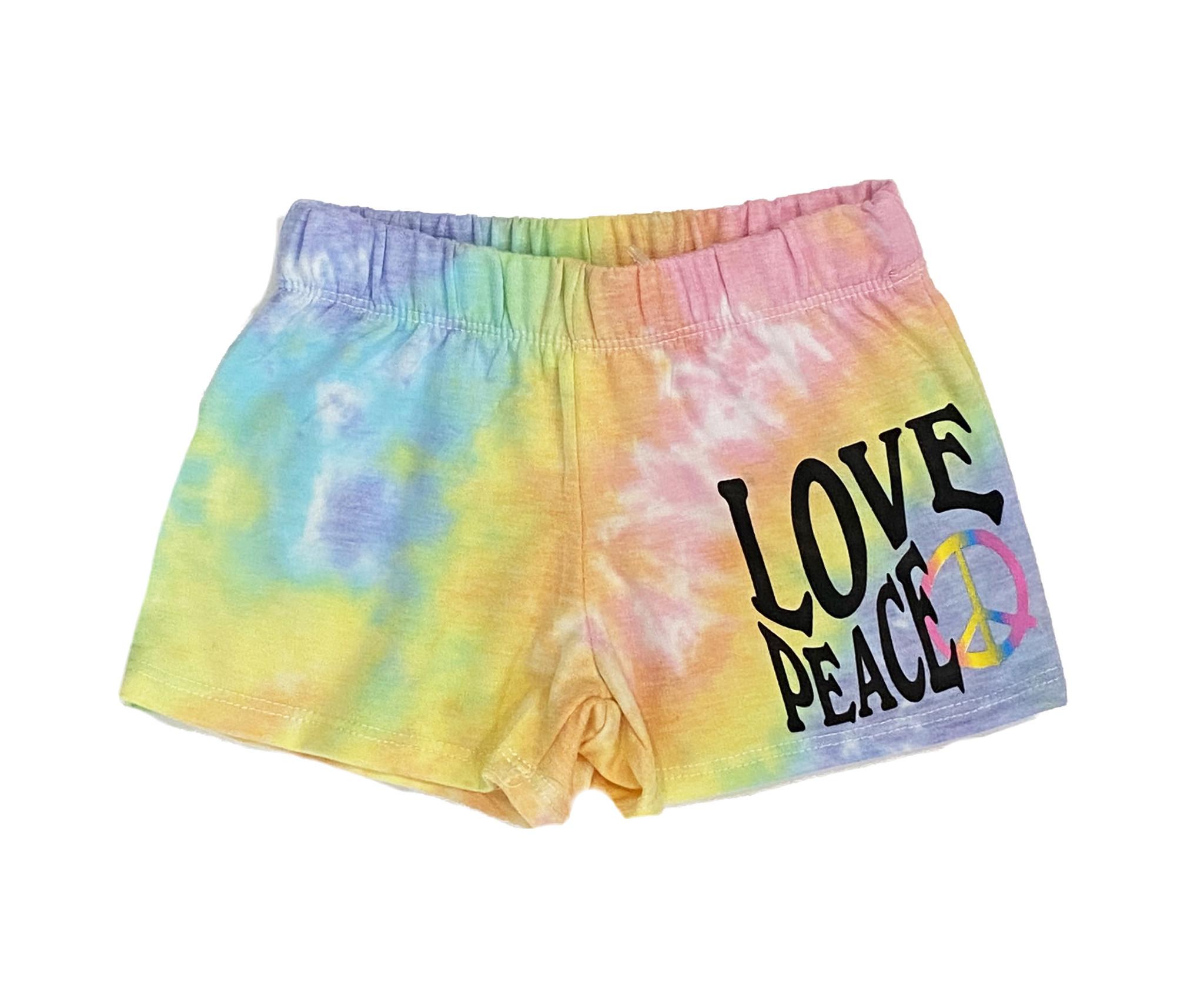 Firehouse Love Peace TD Shorts