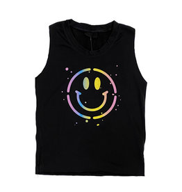 Firehouse Black Ombre Smile Tank