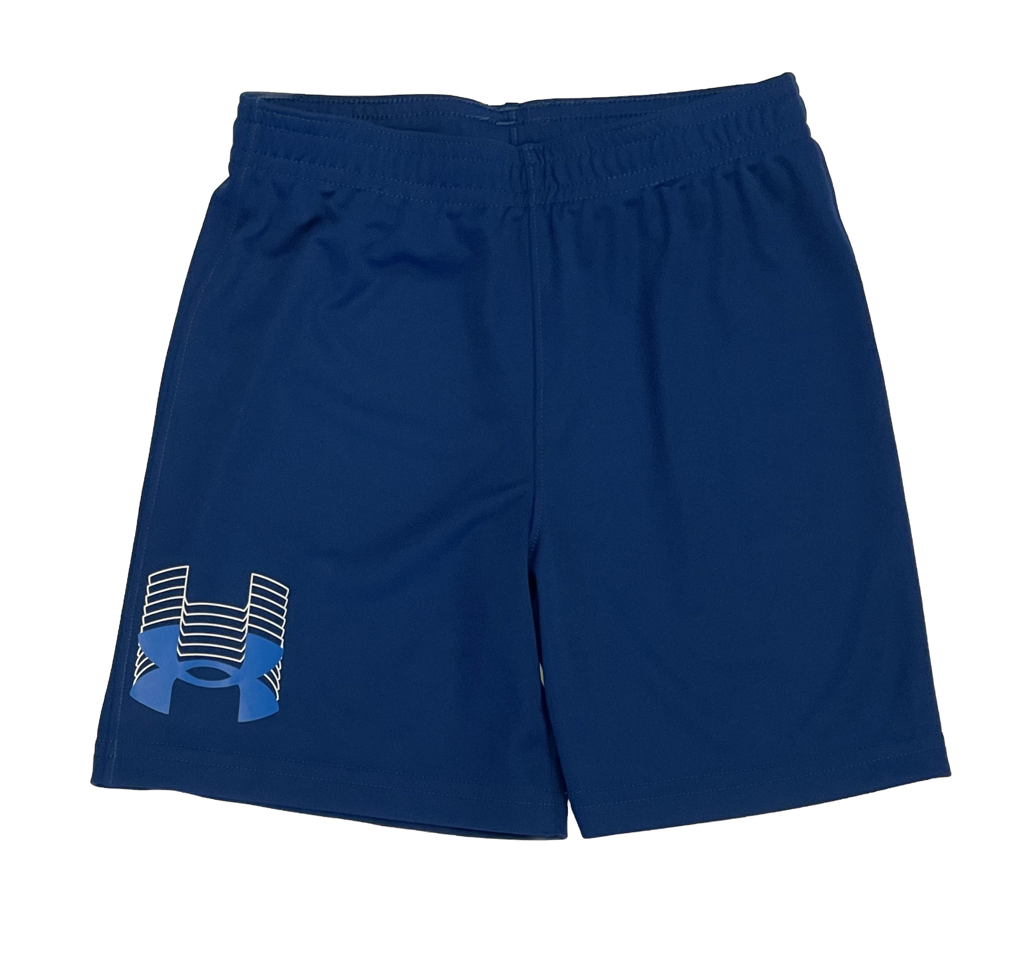 Under Armour Graphite Blue Logo Shorts
