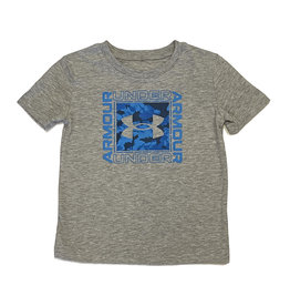 Under Armour Grey Square Logo Tee