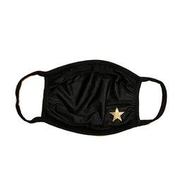 Sofi Black with Gold Star Mask- 3 sizes
