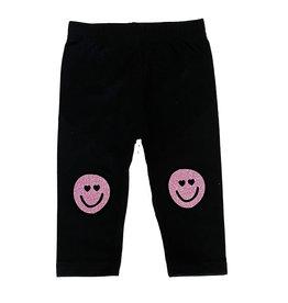 Small Change Pink Smiley Leggings