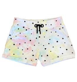 Paper Flower TD Heart Star Shorts