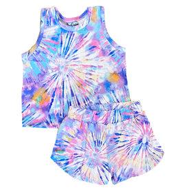 Dori Pretty Pinwheel Short Set