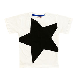 Mish Black/White Star Infant Tee