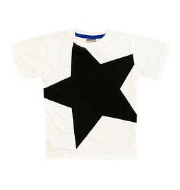 Mish Black/White Star Infant Tee