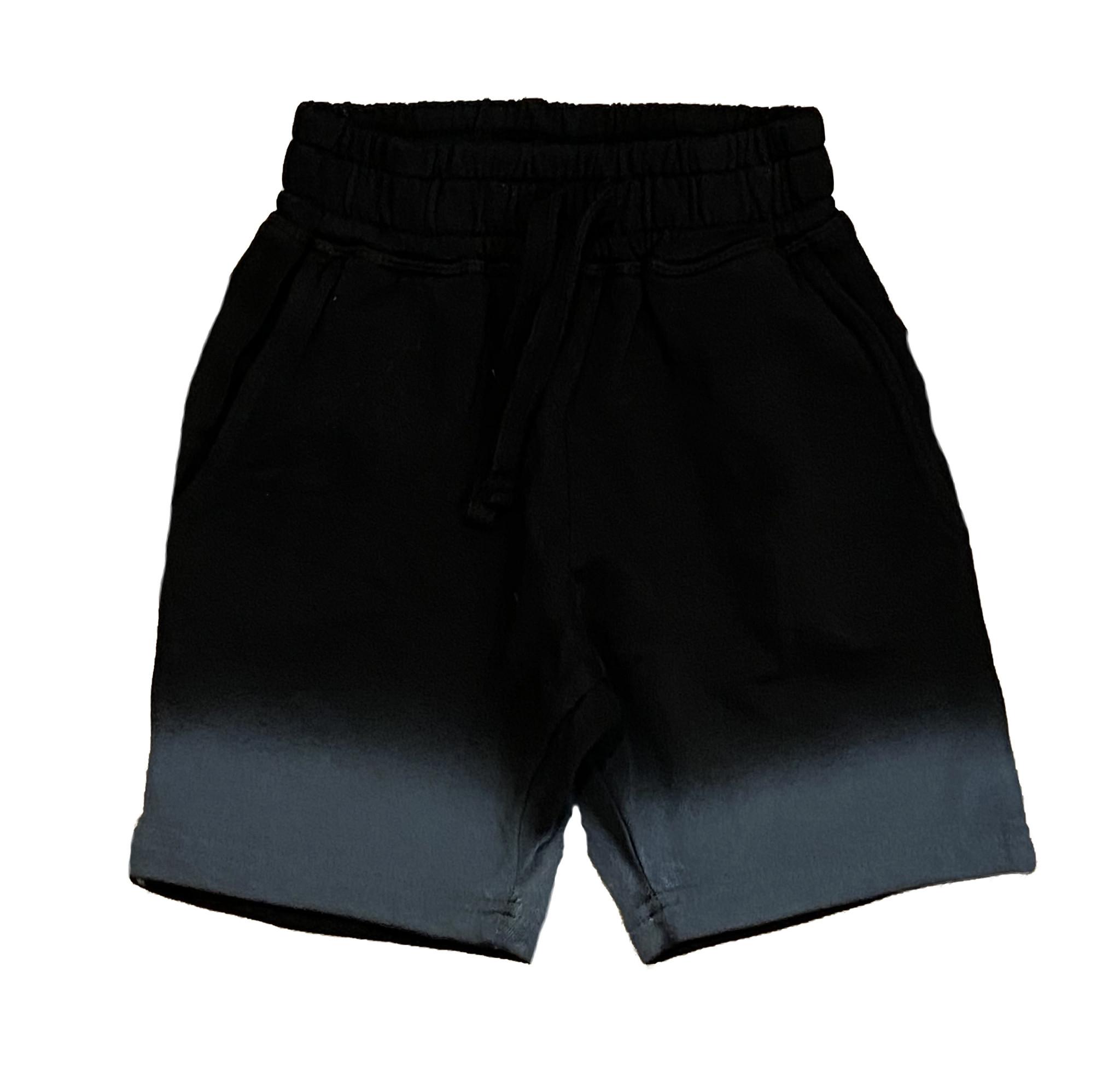 Mish Black Ombre Infant Shorts
