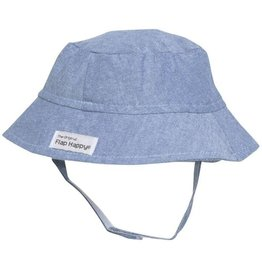 Flap Happy Bucket Hat - Chambray