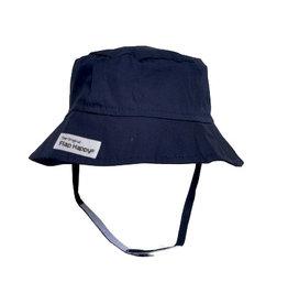 Flap Happy Bucket Hat - Navy Blue