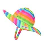 Flap Happy Neon Stripe UPF50+ Hat