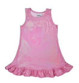 Flap Happy Sparkle Infant Ruffle Dress