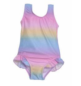 Flap Happy Rainbow Ombre Infant Swimsuit