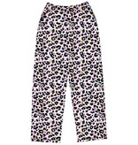 IScream Pink Leopard Plush Pants