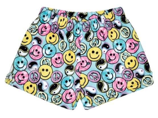 IScream Be All Smiles Plush Shorts