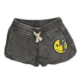Vintage Havana Grey Smiley Bolt Shorts