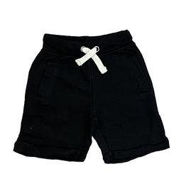 Vintage Havana Boys Burnout Terry Black Shorts