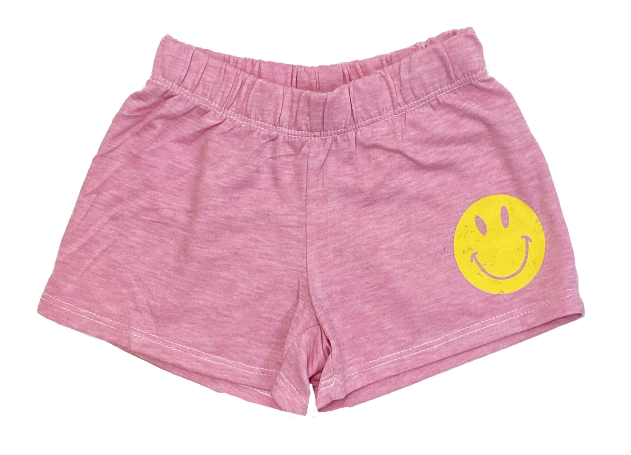 Firehouse Pink Smiley Sweat Shorts