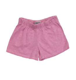 Firehouse Pink Basic Sweat Shorts
