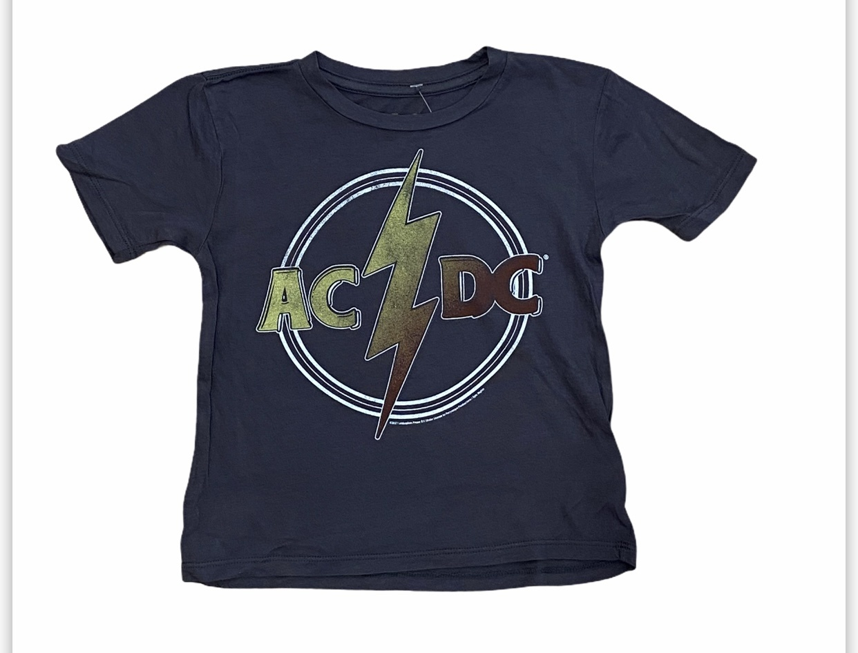 Rowdy Sprout ACDC Black Tee