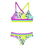 Limeapple Animal Striped Bikini