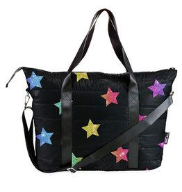 Top Trenz Multi Stars Weekender Bag