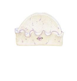 Too Sweet Lavender Glitter Splatter Hat