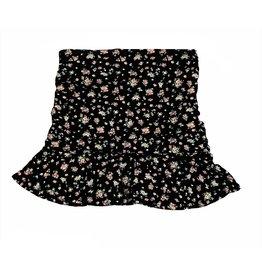 Katie J NYC Aspen Floral Pull On Mini Skirt