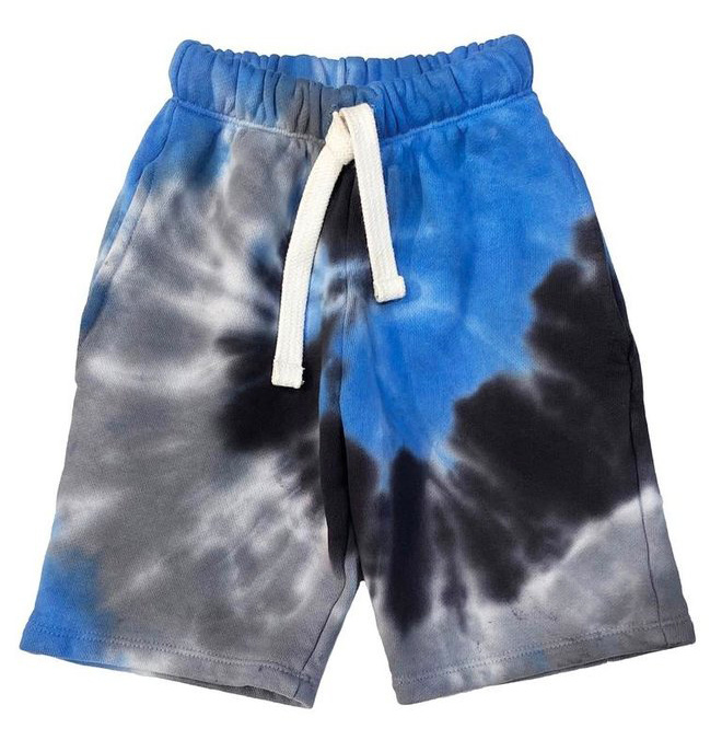 Californian Vintage Royal/Blk TD Shorts