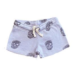 Vintage Havana Lavender Grey Skulls Shorts