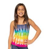 Malibu Sugar Multi Dip Dye Cami Tank 7-10