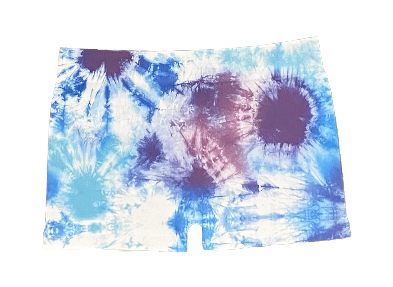 Malibu Sugar Blue/Turq/Purple TD Boy Short 4-6x