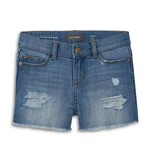 DL 1961 Light Denim Lucy Cutoff Shorts