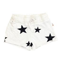 T2Love White with Stars Sweatshorts