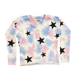 T2Love PB Tie Dye Crew Sweatshirt