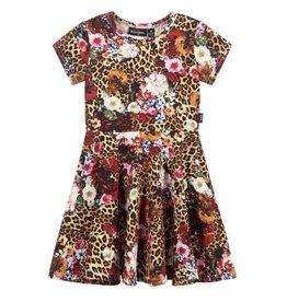 Rock Your Baby Leopard Floral Dress