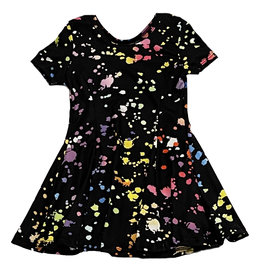 Social Butterfly Splatter Dress